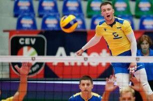Чоловіча збірна України на Чемпіонаті Європи з волейболу обіграла естонців і гарантувала собі місце в плей-офф