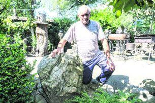 «Усе розпочалося з950-кілограмового каменя, який привіз ізЗакарпаття»