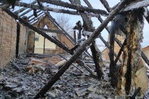 Під Луцьком горів будинок сина воїна УПА: родині потрібна допомога (Фото)