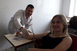 У Ківерцях на День донора 50 мешканців міста та району здали кров