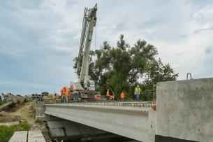 На Ковельщині будують новий 24-метровий міст