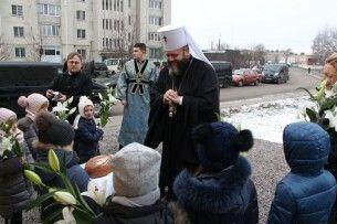 У Луцьку в Дитячій церкві вперше правили престольне свято