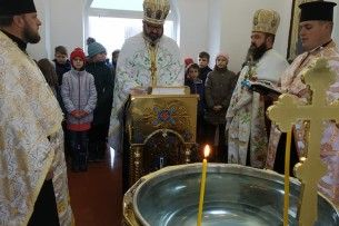 У селі Тростянець Ківерцівського району освятили капличку-купальню для хрещення діток (Фото)