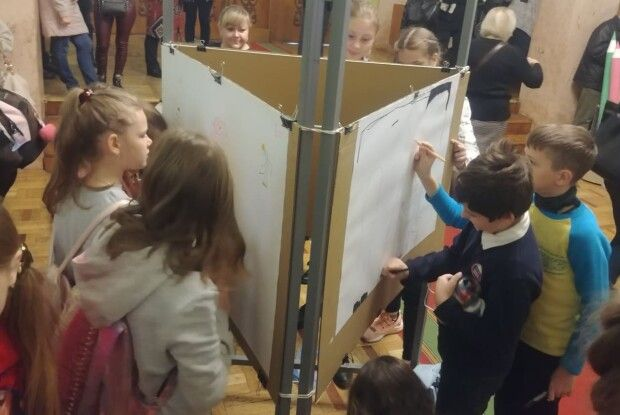 Півтори сотні юних волинян сьогодні сказали: «Я – художник!» (Фото, відео)