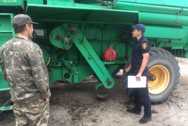 У Любомльському районі рятувальники побували на жнивах