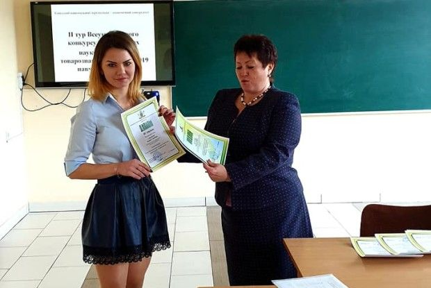 Студентка Луцького НТУ виборола ІІІ місце на Всеукраїнському конкурсі наукових робіт
