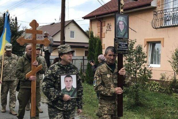 Попрощалися із загиблим бійцем волинської бригади (Фото)