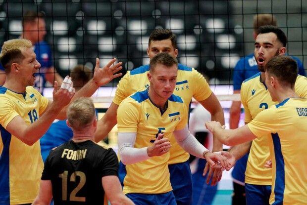 Чоловіча збірна України стартувала з перемоги на Чемпіонаті Європи з волейболу