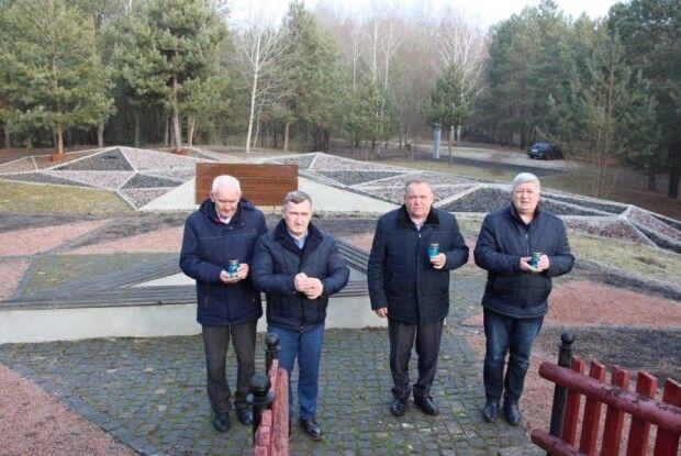 На Ковельщині вшанували пам'ять жертв Голокосту