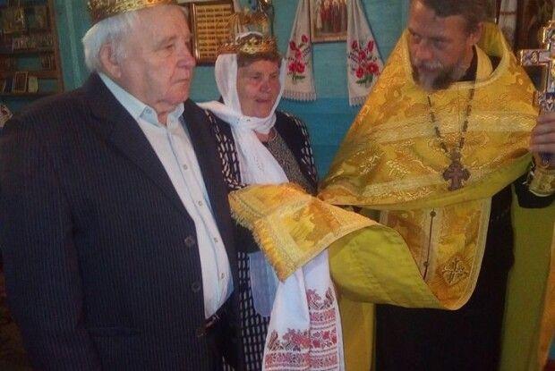У день свого «золотого» весілля  вдруге пішли до шлюбу