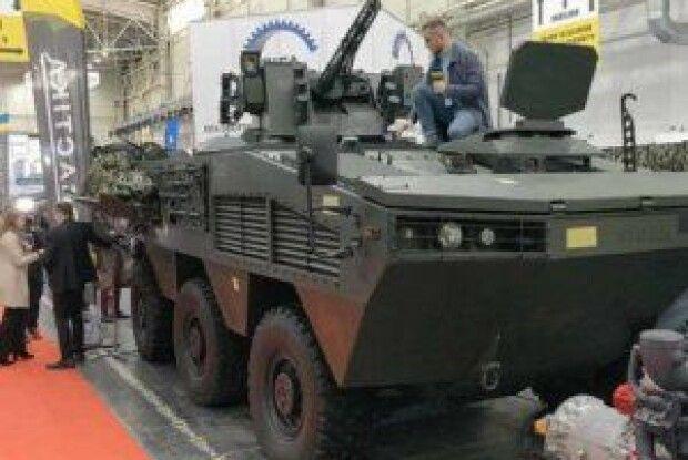 Представили новий бронетранспортер, який не має аналогів в Україні