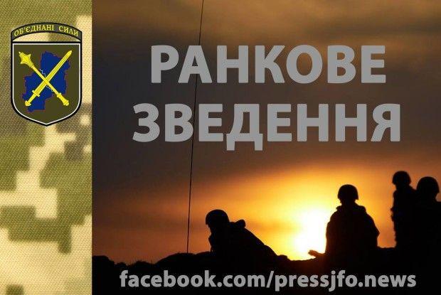 Вісті з фронту: 3 бойовиків знищено та 2 поранено