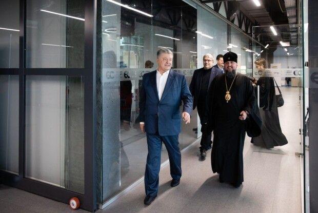 Міжнародне визнання ПЦУ буде продовжуватись, – зустріч Порошенка з митрополитом Епіфанієм