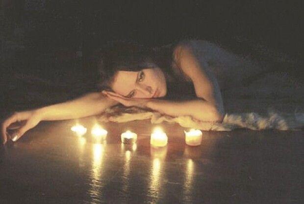 При світлі нічної свічечки…
