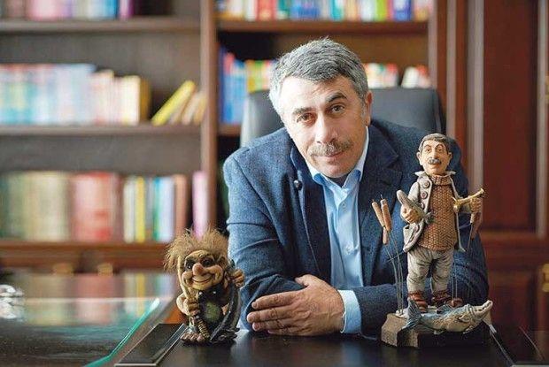 Найзнаменитіший лікар країни Євген Комаровський:  «Коли япомер іпадав…»