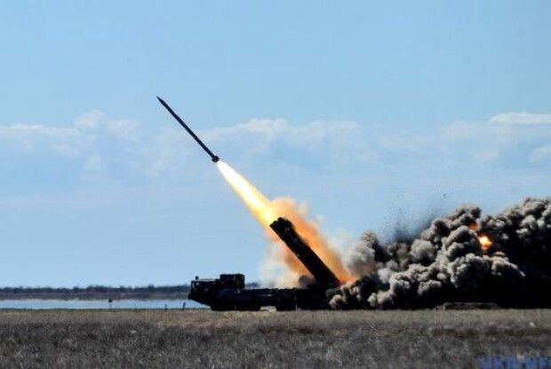 У РНБО протестували оновлену ракету «Вільха-М»