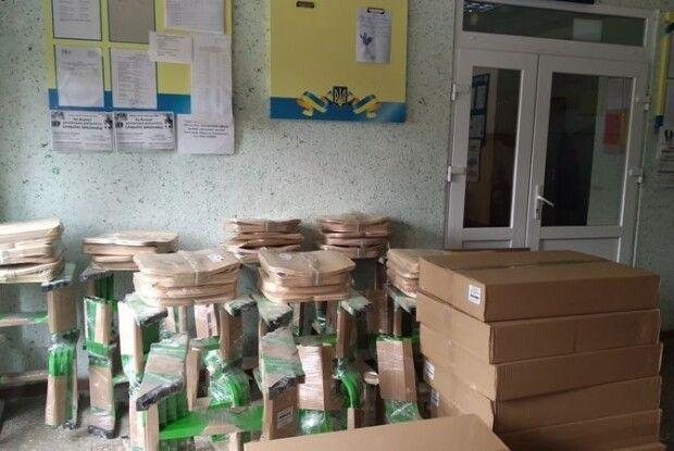 Школи Копачівської ОТГ отримали нові парти
