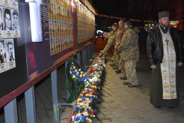 У Луцьку вшанували загиблих в АТО