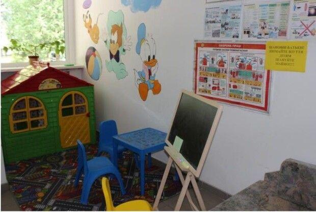 У Ківерцівській дитячій поліклініці створили ігровий куточок