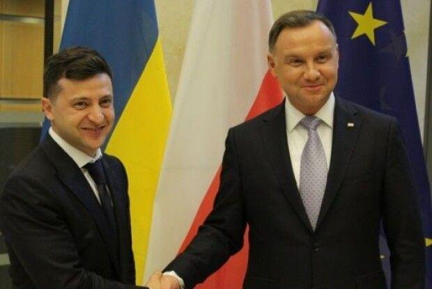 Володимир Зеленський у Польщі проводить зустріч із президентом Польщі
