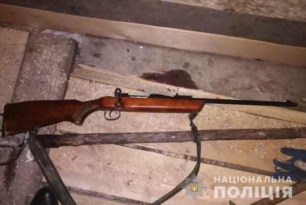 У жителя Маневицького району поліція вилучила вогнепальну зброю