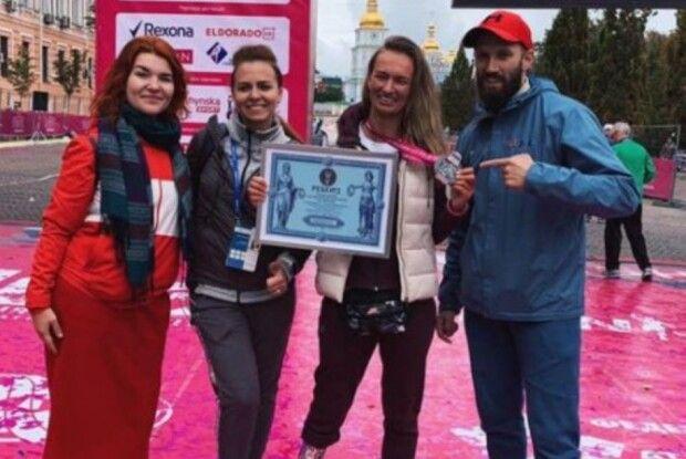 Українська тенісистка Воротиліна на протезі пробігла марафон і встановила рекорд України