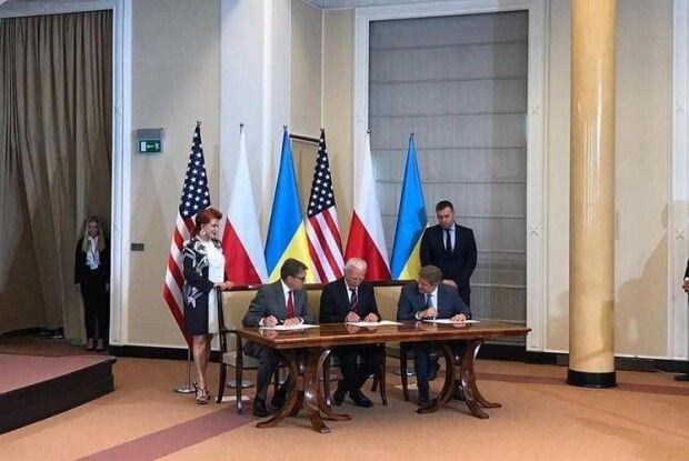 Україна, Польща та США підписали «газовий» меморандум