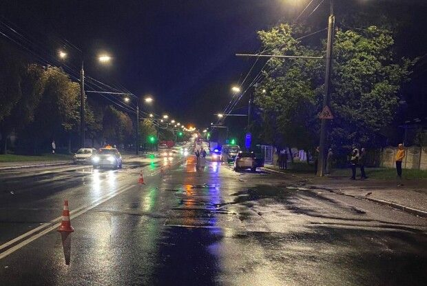 У Луцьку жахлива аварія: загинув пішохід (Фото)
