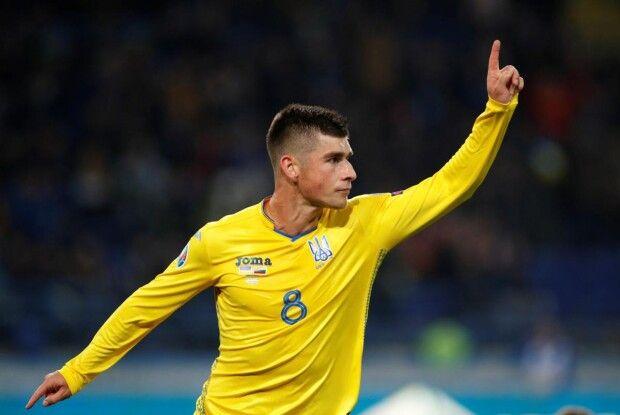 Руслан Маліновський став найкращим гравцем збірної України за підсумками матчів відбору до Євро-2020