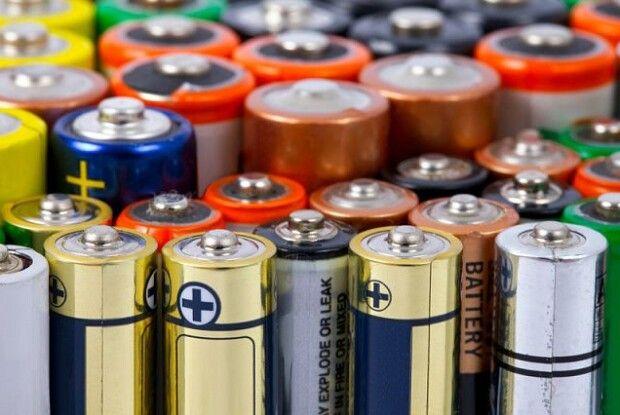 Україна відправить 20 тонн батарейок на переробку до Євросоюзу