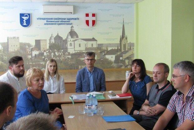 У Луцьку відбулася зустріч з фахівцями ВООЗ
