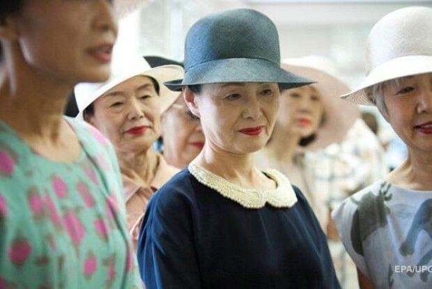 Кількість довгожителів в Японії досягла рекордного рівня