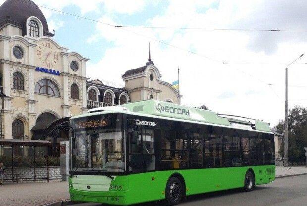 У Луцьку відновлено рух тролейбусів до Залізничного вокзалу