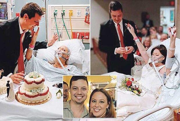 До сліз: вийшла заміж за 18 годин до смерті