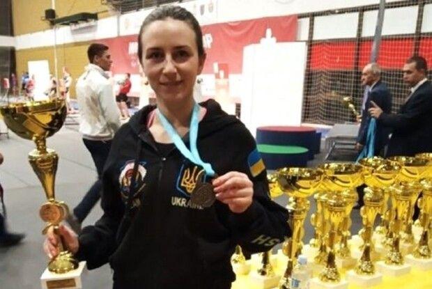 Поліцейська зі Сарн стала чемпіонкою світу