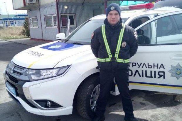 Волинський патрульний встановив рекорд України (Фото)