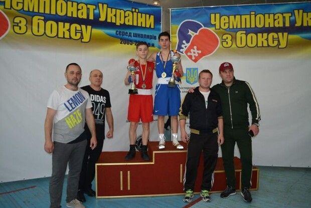 Ківерчанин став срібним призером з боксу