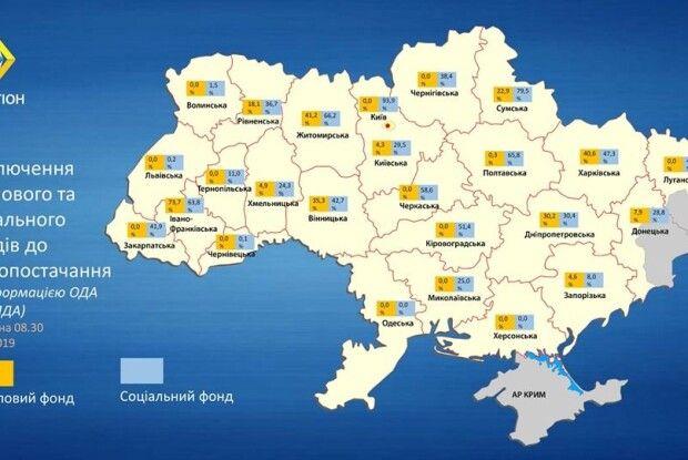 Третина шкіл, дитсадків та лікарень Рівненщини включила опалення