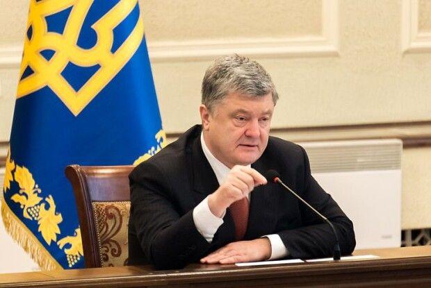 На Волинь прибув Петро Порошенко і його команда