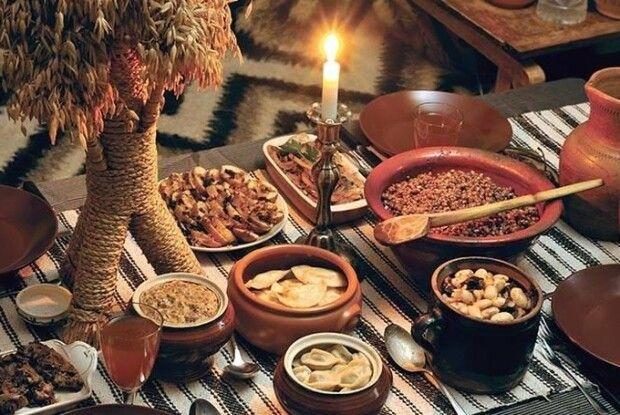 28 листопада - початок Різдвяного посту: календар харчування