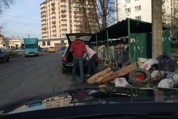 Лучанина, який підкидав своє сміття під чужі контейнери, оштрафують