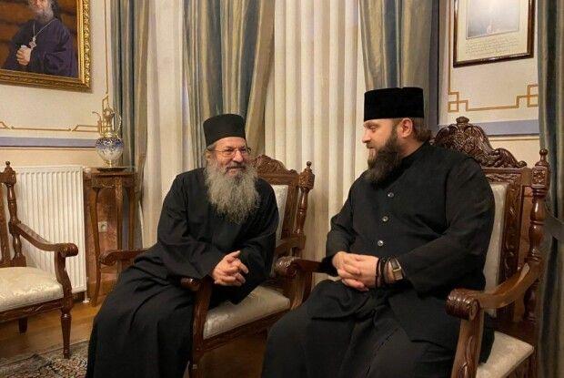 Делегація Православної церкви України відвідала гору Афон