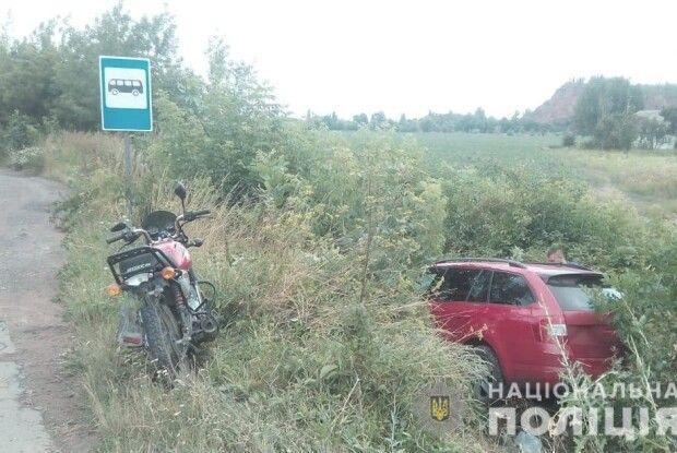 В Іваничівському районі в ДТП постраждав 65-річний мотоцикліст