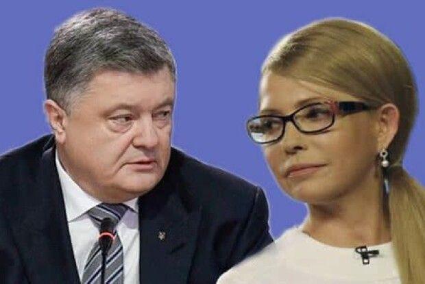 Тимошенко обходить Порошенка в битві за 3-є місце – 25:24!