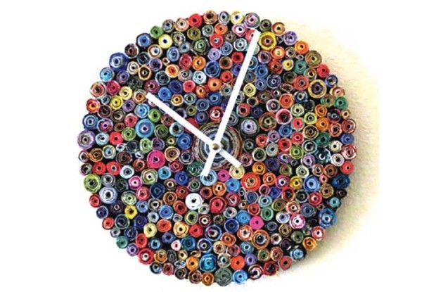 Незвичний годинник для дачі