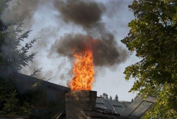 На Горохівщині горіла хата