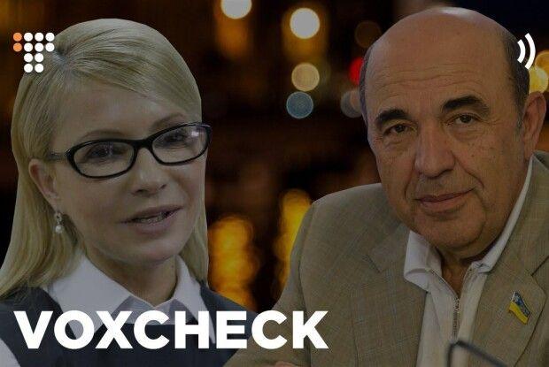 Тимошенко і Рабінович у Раді брешуть найбільше