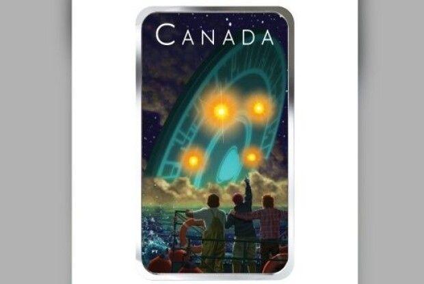 У Канаді присвятили нову монету... прибульцям