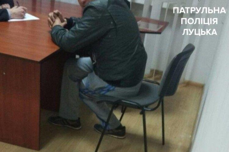 Лучанин хильнув, скоїв ДТП… і заявив про викрадення своєї автівки (фото)