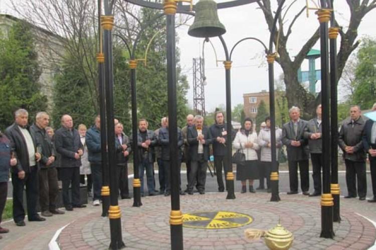 УНововолинську вшанували чорнобильців